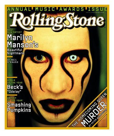 Marilyn Manson, Rolling Stone no. 752, January 1997