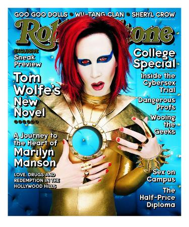 Marilyn Manson, Rolling Stone no. 797, October 1998