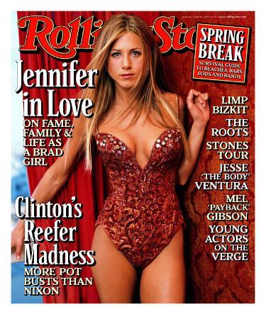 Jennifer Aniston, Rolling Stone no. 807, March 1999