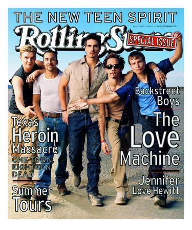 Backstreet Boys, Rolling Stone no. 813 (cover B), May 1999