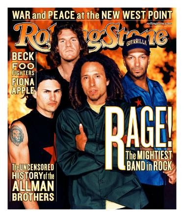 Rage Against the Machine, Rolling Stone no. 826, November 1999