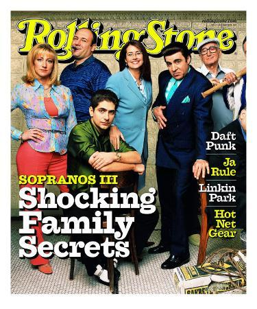 Cast of The Sopranos, Rolling Stone no. 865, March 2001