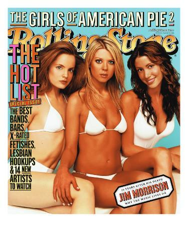 Cast of American Pie 2, Rolling Stone no. 876, August 2001