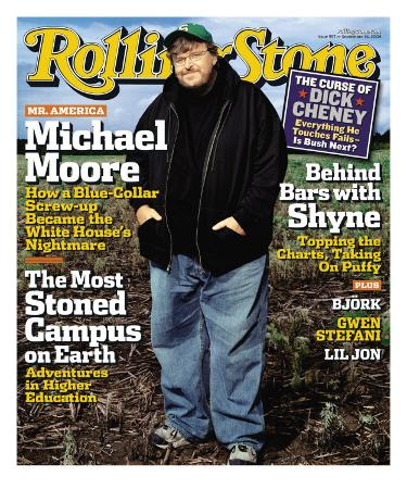 Michael Moore, Rolling Stone no. 957, September 2004