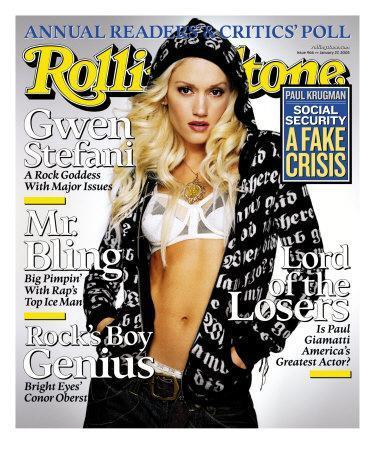 Gwen Stefani, Rolling Stone no. 966, January 2005