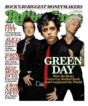 Green Day, Rolling Stone no. 968, February 2005