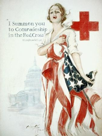 I Summon You to Comradeship in the Red Cross, Woodrow Wilson