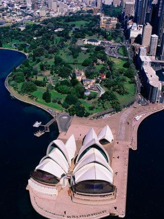 Sydney Opera House and Harbour, Sydney, Australia