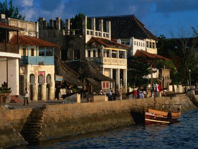 Buildings on Waterfront, Lamu, Kenya