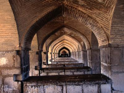 Khaju Bridge, Esfahan, Iran