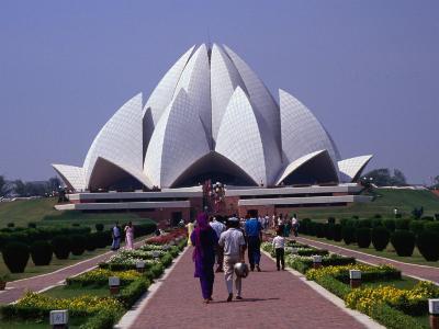 Baha'I House of Worship (Lotus Temple), Delhi, India