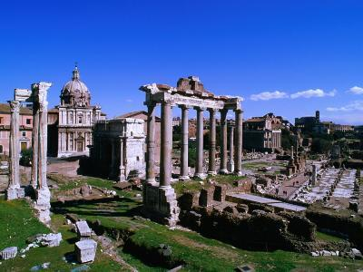 Roman Forum Ruins., Rome, Lazio, Italy