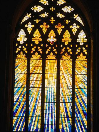 Holy Spirit Window of St. Mary's Roman Catholic Cathedral, Cork, Ireland