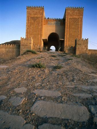 Gates of Ancient City of Nineveh, Now Mosul, the Third Capital of Assyria, Al Mawsil, Iraq
