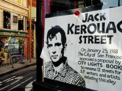 Sign, Jack Kerouac Street, North Beach District, San Francisco, United States of America