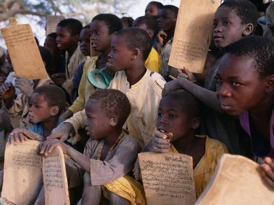 Children at Village School, Niger