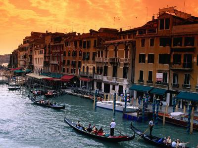 Grand Canal and Riva Del Vin, Venice, Veneto, Italy