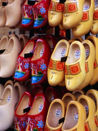 Clogs at Albert Cuyp Straat Market, Amsterdam, Netherlands