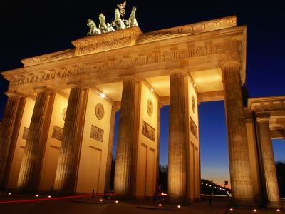Brandeburg Gate at Dusk, Berlin, Germany