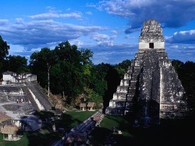 Temple of the Grand Jaguar on the Great Plaza, Tikal, Guatemala