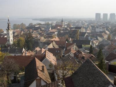 Overlooking Historic Precinct of Zemun, Belgrade, Union of Serbia and Montenegro (Yugoslavia)