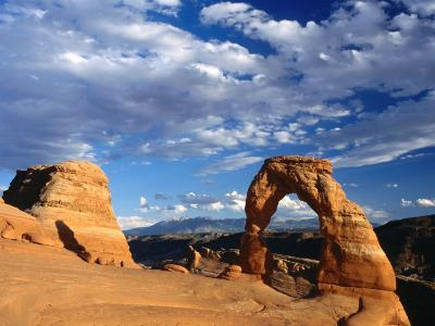 Arches Caused by Erosion, Arches National Park, USA