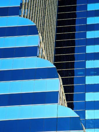 Detail of Citibank Building,Chicago, Illinois, USA