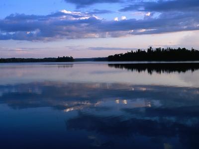 Sunset on Lake Itasca, Itasca State Park, USA