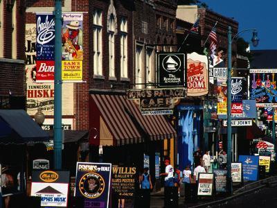 Shops on Beale Street, Memphis, USA