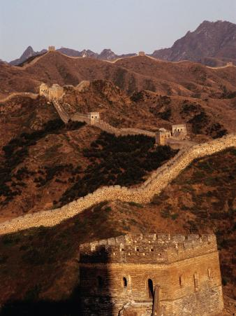 Great Wall of China Near Gubeikou, Jinshanling, Beijing, China