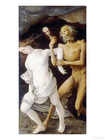 Death and Youth, Hans Baldung Brien, Bargello National Museum, Florence