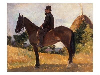 Diego Martelli on Horseback, Modern Art Gallery, Pitti Palace, Florence