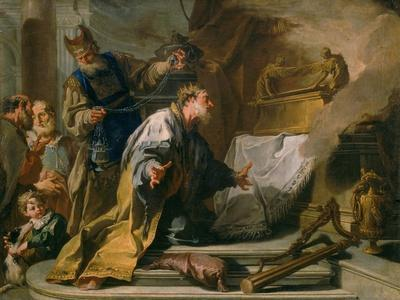 David Before the Ark of the Covenant, Vasari Corridor, Uffizi Gallery, Florence