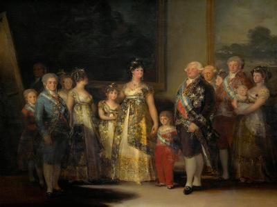 King Charles IV (1748-1819) of Spain and His Family