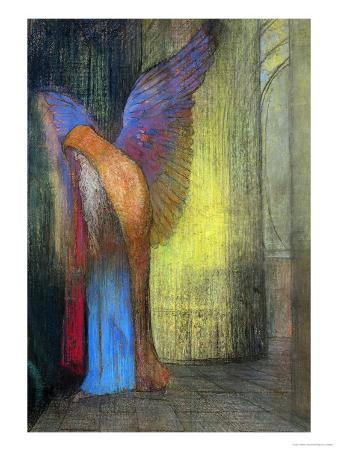 Old Man with Wings, 1895