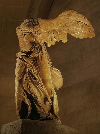 The Nike Of Samothrace Goddess Of Victory Giclee Print At