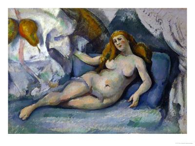 Female Nude, 1885-1887