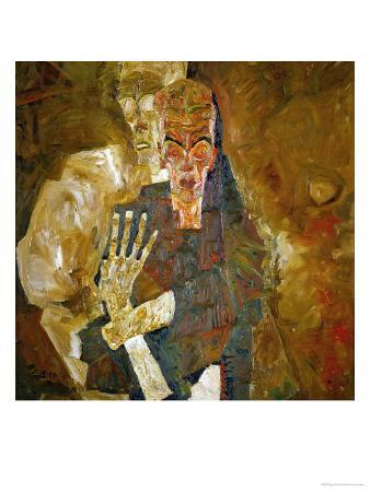 Death and Mann, Tod Und Mann or Selbstseher (II)