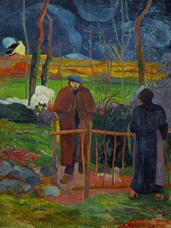 Bonjour, Monsieur Gauguin, Self-Portrait, Hommage a Courbet
