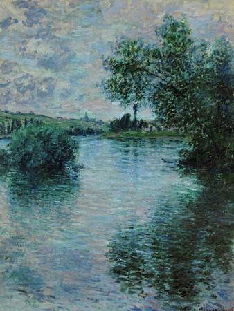 The Seine Near Vetheuil, 1879