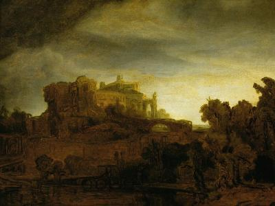 Castle at Twilight, 1640