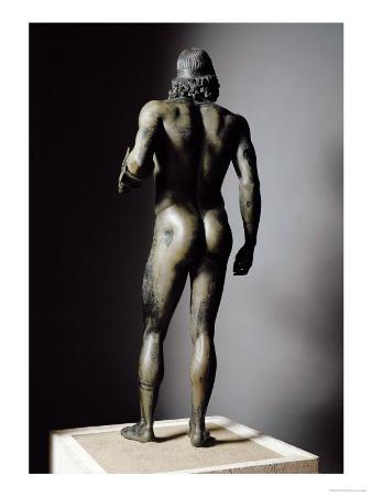 Riace Bronze (A), Bronze Statue of a Man with Headband