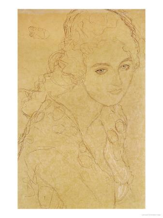 Study for the Painting Portrait Ria Munk III 1917/18