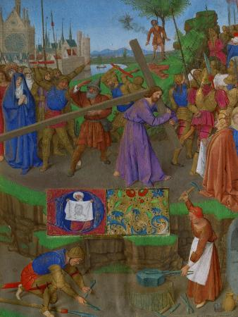 Les Heures D'Etienne Chavalier: The Carrying of the Cross