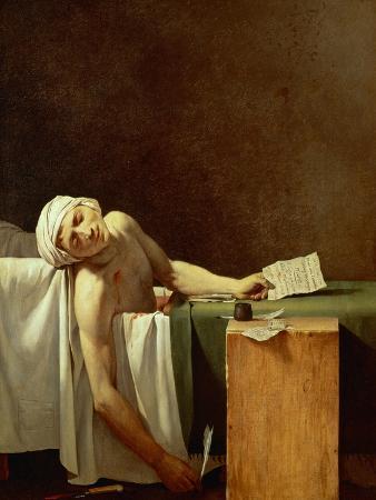 Assassination of Jean-Paul Marat in His Bath, 1793