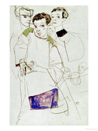 Triple Selfportrait, 1913