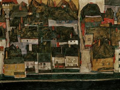 The Small City IV, (Krumau on the Moldau), 1914