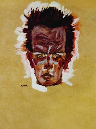 Self-Portrait (Head), 1910