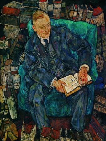 Portrait Dr. Hugo Koller, 1919
