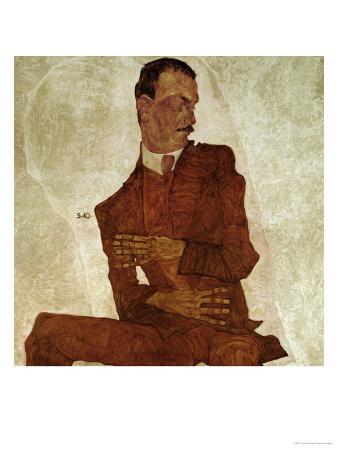 Portrait Arthur Roessler, 1910